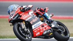 SBK Ducati, Melandri: «Ero senza grip»