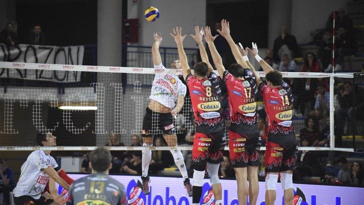 Volley: Superlega, Perugia prende il volo
