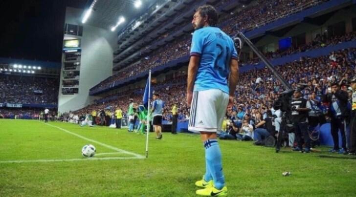 New York, nella notte Pirlo gioca la sua ultima partita e dice addio al calcio