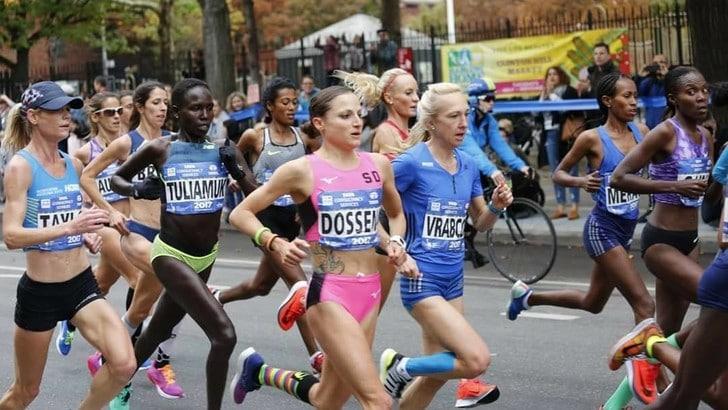 Sara Dossena all'esordio è 6^ a New York Marathon