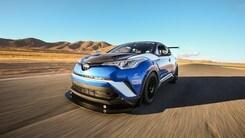 Toyota, il Suv C-HR diventa un mostro da 600 cavalli