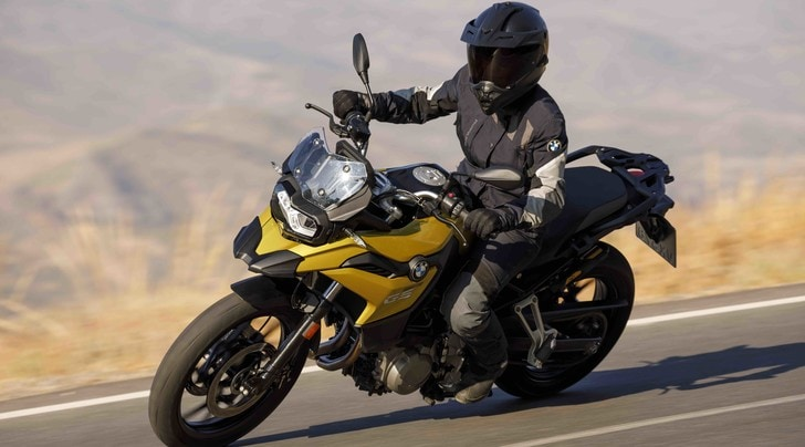 EICMA, BMW F750 GS: restyling totale