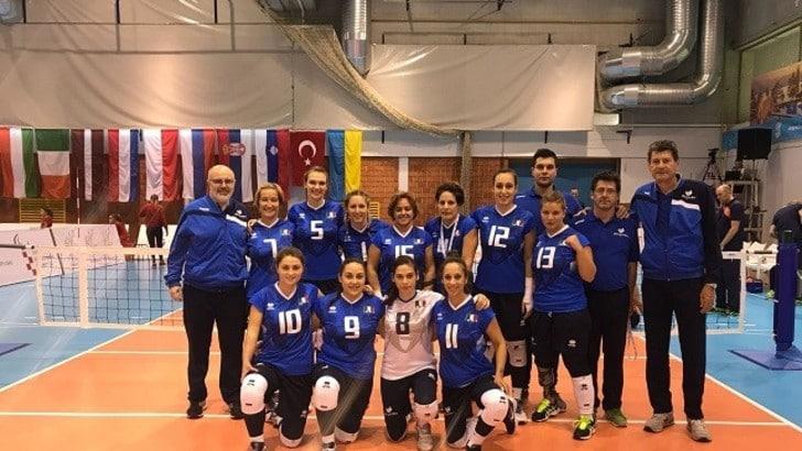 Sitting Volley: agli Europei le azzurre battute dall'Olanda