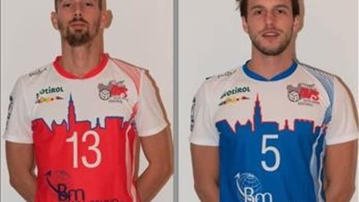 Volley: A2 Maschile, Bolzano: Zappoli e Thei out per tre mesi