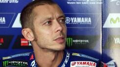 MotoGp Yamaha, Rossi: «Giornata dura, non miglioriamo»