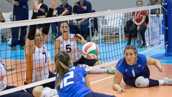 Sitting Volley: l'Italia sconfitta dall'Ucraina, fuori dalla lotta per il podio