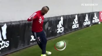 Bayern Monaco: che gol di Vidal in allenamento!