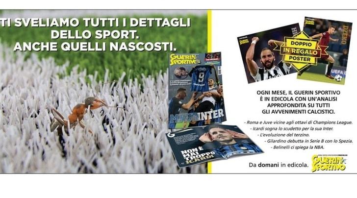 Guerin Sportivo, da domani in edicola il nuovo numero con Icardi in copertina