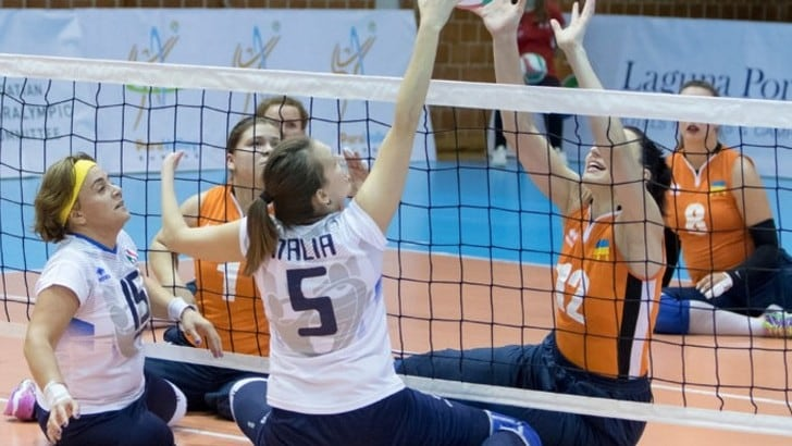 Sitting Volley: l'Italia Femminile batte la Croazia ed è 7a all'Europeo