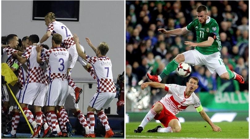 Playoff mondiali: Croazia e Svizzera con un piede in Russia