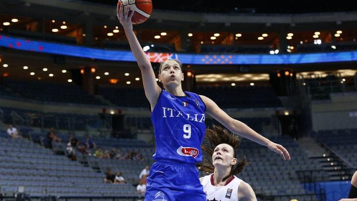 Qualificazioni Eurobasket Women: domani Macedonia-Italia