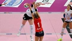Volley: A2 Femminile, nell'8a prosegue il duello a distanza fra Cuneo e Battistelli