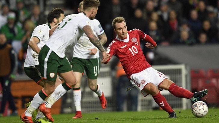 Mondiali 2018, quote in bilico per Irlanda-Danimarca