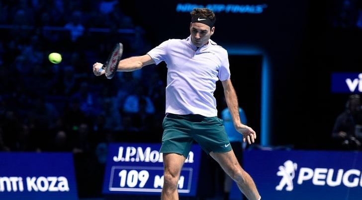 Atp Finals; esordio con vittoria per Federer
