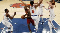 LeBron gela il Garden, New York si arrende nel finale