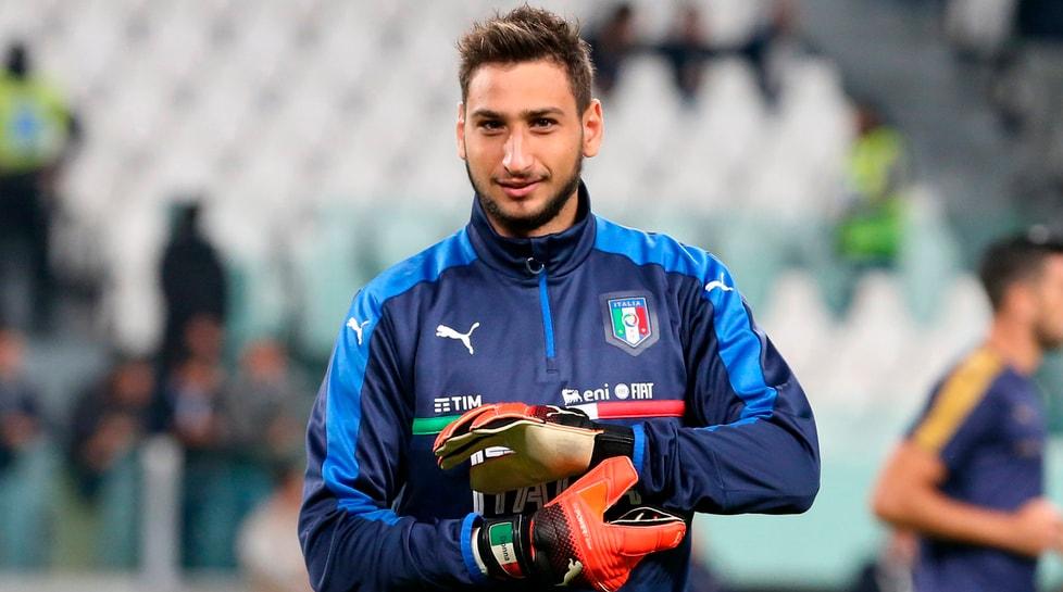 Gianluigi Donnarumma (Milan), portiere.