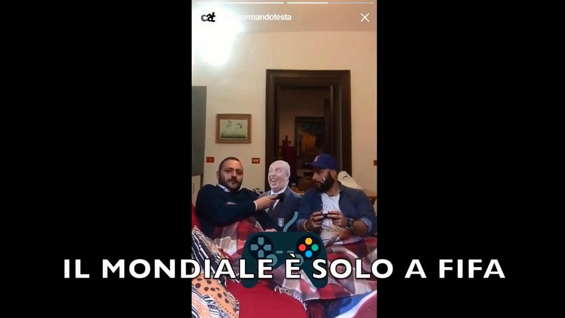 Italia fuori dai Mondiali, ecco la parodia