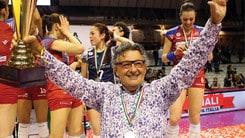 """Volley: A1 Femminile, assegnato a Foppapedretti il premio """"Sport e Impresa"""""""