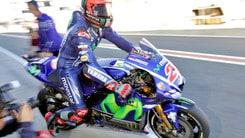 MotoGp, test a Valencia: Vinales in testa, quarto Rossi