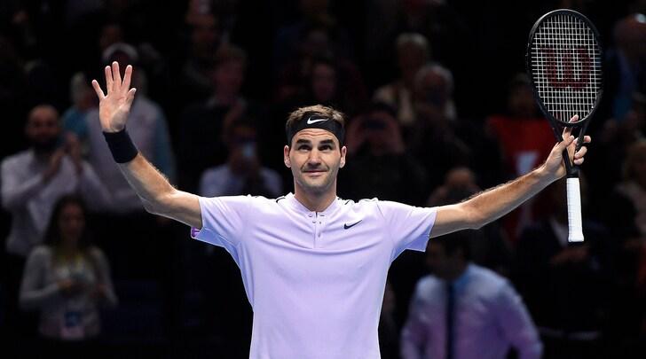 Atp Finals, Federer batte Zverev e vola in semifinale