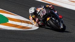 MotoGp, test Valencia: domina Marquez, Rossi settimo