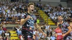 Volley: Superlega, Perugia batte anche Trento e torna in vetta da sola