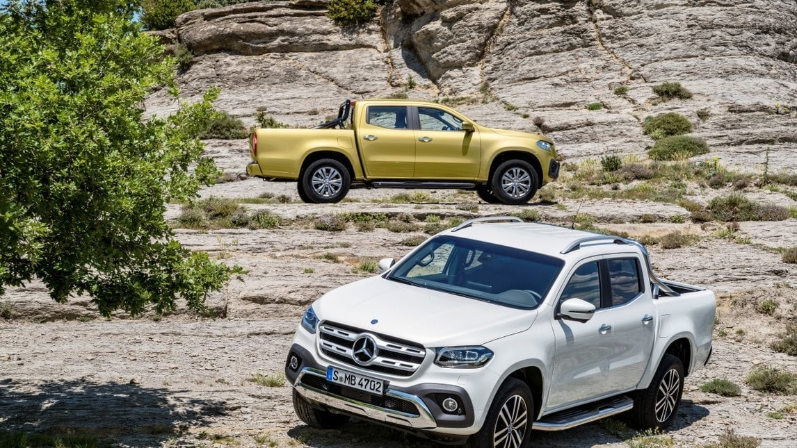 Mercedes Classe X: il pick-up per l'Europa