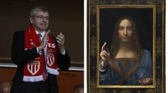 """Leonardo da record, il patron del Monaco vende il """"Salvator Mundi"""" per 382 milioni"""