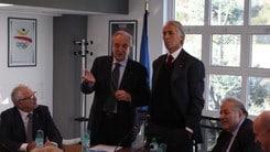 Volley: Giovanni Malagò in visita alla Fipav