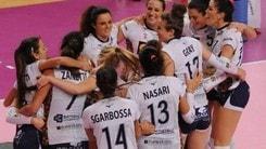 Volley: A2 Femminile, Club Italia-Soverato e Trento-Battistelli gli anticipi della 9a
