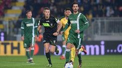 Serie B Frosinone-Avellino, prima Castaldo, poi Ciofani. Termina 1-1