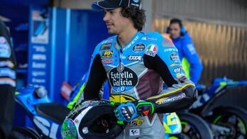 MotoGp, Morbidelli: «Che potenza questa moto!»