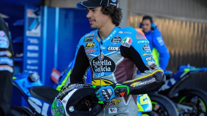 MotoGp, Morbidelli: «Voglio essere il miglior rookie»