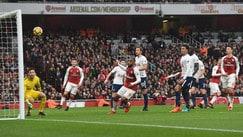 Premier League, Arsenal-Tottenham 2-0: il film della partita
