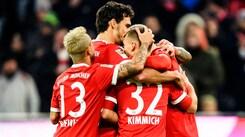 Bundesliga, Bayern sempre più solitario in testa: 3-0 all'Augusta