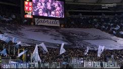 Roma-Lazio, l'emozione dell'Olimpico nel ricordo di Gabriele Sandri