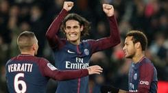 Ligue 1, Psg-Nantes 4-1: Cavani ne fa due