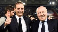 Juventus, Marotta blinda Allegri:«Nessuna tentazione azzurra»