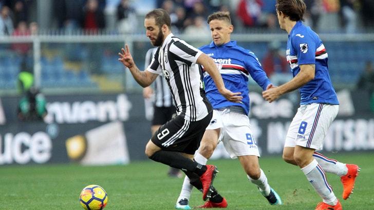 Serie A Sampdoria-Juventus 3-2, il tabellino
