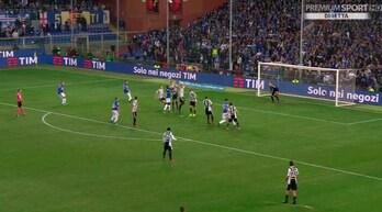 Sampdoria-Juventus, il gol di Ferrari era da annullare