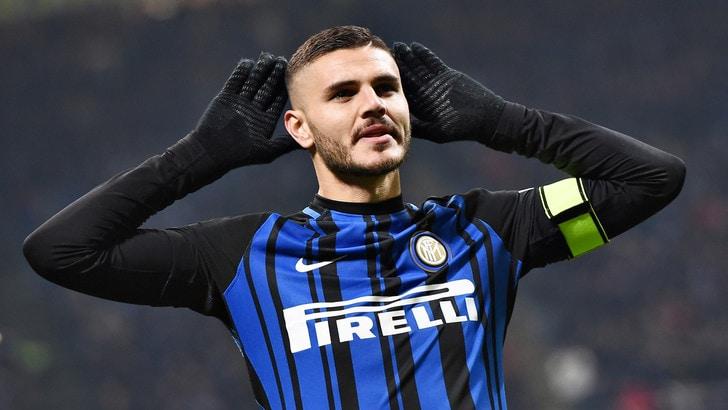 Serie A, Inter-Atalanta 2-0: doppietta Icardi, Spalletti a +2 dalla Juventus