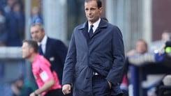 Juventus, Allegri: «Schiaffi immeritati, ora dobbiamo reagire»