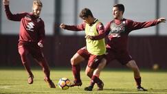 Il Torino subito al lavoro dopo il pari con il Chievo
