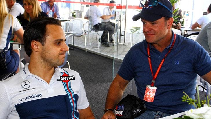 F1, Massa: «Alonso è il top. Vettel sbaglia troppo»