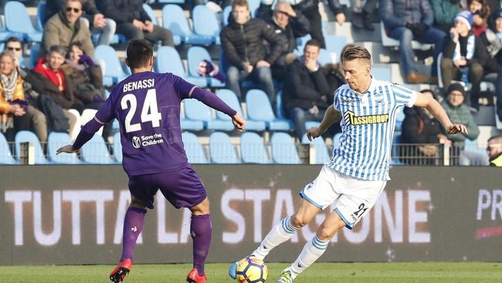 Serie A Spal, Salamon ai box: frattura allo zigomo