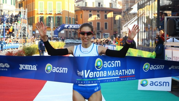 Titolo italiano e maratona di Verona, Federica Dal Ri prende tutto