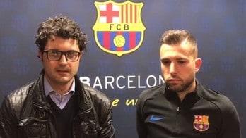 Intervista esclusiva a Jordi Alba su Tuttosport in edicola