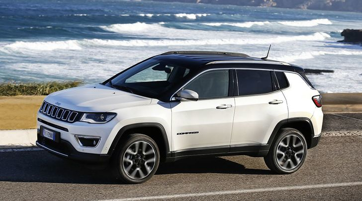 Jeep Compass Limited Winter, a prova di neve