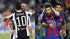 Juventus-Barcellona, salari a confronto: 52,5 milioni in più per i titolari blaugrana