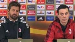 """Montella: """"Ci teniamo tanto all'Europa League"""""""
